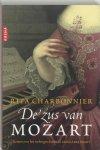 Rita Charbonnier - De zus van Mozart [op omslag]: Roman over het verborgen leven van María
