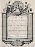 Abraham Bloemaart - Oorspronkelyk en vermaard konstryk tekenboek