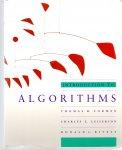 Cormen, Leiserson, Rivest (ds2002) - Iintroduction to Algorithms