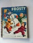 Malvern, Corinne - A Little Golden Book. Frosty the snow man