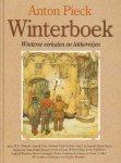 Diverse auteurs - Anton Pieck Winterboek (Winterse verhalen en lekkernijen), met recepten en bijdragen van Pauline Remmers, 96 pag. hardcover, zeer goede staat