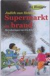 J. van Helden - Supermarkt in brand