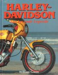 Green, William - Harley-Davidson (Een Levende Legende), 79 pag. hardcover, zeer goede staat