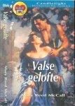 Reed McCall Mary  Vertaling Translance  Guido Dingemans - Valse Gelofte   Candlelight Historische roman 866