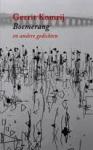 Komrij, Gerrit - Boemerang en andere gedichten.