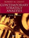 Grant, Robert Mcqueen - Contemporary Strategy Analysis