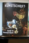 Haveman, Mariette (hoofdredacteur) - art: KUNSTSCHRIFT :   AZIE IN AMSTERDAM