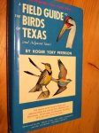 Peterson, RT - A Field Guide to the Birds of Texas and adjacent States