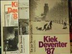 Amerongen, Co van, Ab Hakeboom, Martin Hollring, Ron Nagtzaam, Gerard Vrakking - Kiek Deventer (6 stuks) 83 / 87 / 88 / 89 / 91 en 93