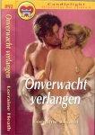 Heath Lorraine Vertaling Roza van Rietschoten - Onverwacht Verlangen  Candlelight Historische roman  892