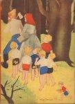 Schermele, Willy - Klein Duimpje, hardcover , 10 pag. met illustraties van Willy Schermele, goede staat (rug iets kaalgesleten)