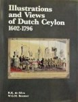 R.K.De Silva. / W.G.M. Beumer - Illustrations and Views of Dutch Ceylon, 1602-1796
