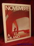 Fabio Novembre. - Novembre a Milano.