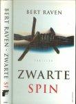 Raven, Bert  Omslagontwerp  Wil Immink  Typografie Burger & Schwarz  Nieuwegein - Zwarte Spin