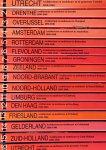 Oudheusden, J.A. (Red.) E.a. - Architectuur en Stedebouw 1850-1940. Serie van 16 delen. Monumenten Inventarisatie Project.