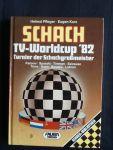 Pfleger, Helmut - Schach, TV-Worldcup 82, Turnier der Schachgroßmeister (Karpow, Spasski, Timman, Seirawan, Torre, Nunn, Bouaziz, Lobron)