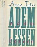 Tyler, Anne . Nederlandse vertaling  Gideon den  Omslagontwerp Rick Vermeulen  H.W. Tex - Ademlessen