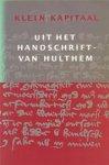 H. van Dijk - Klein kapitaal uit het handschrift-Van Hulthem