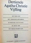 Christie, Agatha - Dertiende Vijfling  (Het rode sein - Met onbekende bestemming - De smaragd van de Radja - De grote vier - Een portie bramentaart)