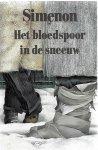 Simenon, Georges - 546  Het  bloedspoor in de schaduw
