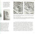 Bangs, Jeremy D. met zwart wit fotos  een ansicht kaart - De Lokhorstkerk Leiden  foto van het doopsgezinde  hofje Bethehem aan het levendaal
