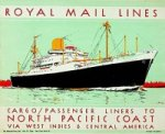 Royal Mail Lines - Brochure Royal Mail Lines Cargo/Passenger Liners to North Pacific Coast
