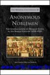 J. R. Diaz de Durana; - Anonymous Noblemen  The Generalization of Hidalgo Status in the Basque Country (1250-1525),