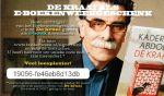 - Kaartje met code voor het gratis downloaden van het e-book 'De kraai' van Kader Abdolah