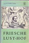 Starter,J.J.(ds1241) - Friesche Lust-Hofdeel 1 Teksten, met Melodieen.
