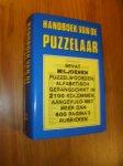 WELBERG, H.C. VAN DEN, - Handboek voor de puzzelaar.