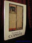 GLORIEUX - DE GAND, Therese; - FORMULES DE COPISTE. LES COLOPHONS DES MANUSCRITS DATES,