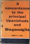Jacob, Colonel G.A. - A concordance to the principal Upanishads and Bhagavadgita