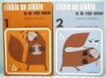 Verbeeck, Marcel - Rikkie en Sikkie in de Vrije Natuur 1 & 2