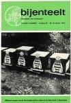 redactie - Maandschrift  voor Bijenteelt- Complete Jaargang 1988  [maandblad  voor imkers ]