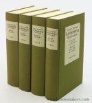 Lichtenberg, Georg Christoph :  Ulrich Joost / Albrecht Schöne (eds.). - Georg Christoph Lichtenberg. Briefwechsel. Im Auftrag der Akademie der Wissenschaften zu Göttingen. [ complete set, 4 volumes ].