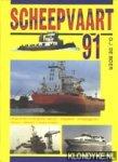 Boer, G.j. de - 1991  Jaarboek Scheepvaart   `91