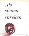 Erwin Aelbrecht, Liene Geeraerts - Als stenen spreken. / En parlant de pierres / wenn Steine reden Konten  / Let's talk stones