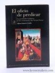Cerdán, Alfonso Esponera. - El oficio de predicar : Los postulados teológicos de los sermones de San Vicente Ferrer.