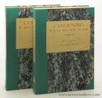 Azaceta, José Maria. - Cancionero de Juan Fernandez de Ixar. Estudio y edicion critica [ 2 volumes ].