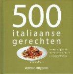 Carol Beckerman en Valentina Sforza - 500 burgers en 500 italiaanse gerechten  2 boekjes