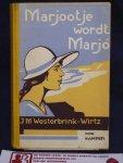 Westerbrink-Wirtz, J.M. - Marjootje wordt Marjo