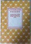 Ritter jr,P.H., Leo van Breen, Mien Labberton e.v.a. - Litteraire parade, Almanak voor boekenvrienden voor het jaar 1940