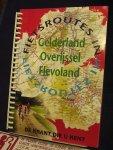 Wegener Falkplan - Fietsroutes in Gelderland, Overijssel Flevoland (30 routes)
