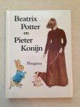 Potter, B. - Beatrix Potter en Pieter Konijn. Uitgeg. tgv 100 jaar Pieter Konijn. Amsterdam, geb. 41 blz. ills. [kl. ; zw/w, ook foto`s]