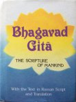 Swami Tapasyananda (transliteration and translation) - Srimad Bhagavad Gita; the scripture of mankind