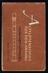 Rohr, Heinrich und Franz Lehn - Altflotenschule fur den anfang