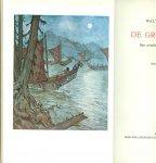 O 'Meara, Walter  Geautoriseerde vertaling van  M.L. OHL  illustraties Anton Pieck. - De Grote Strijd  .. Een Pionier vindt zijn Levensgeluk