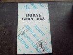 "J.J. Grootenboer e.a. - ""Borne Gids 1983"""