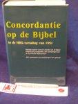 Gispen, W.H., Kamp, W. van der - Concordantie op de Bijbel in de NBG-vertaling van 1951