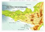 Klare, Jean - Prentbriefkaart: Atlas van het Bijbels continent (1. Genesis)